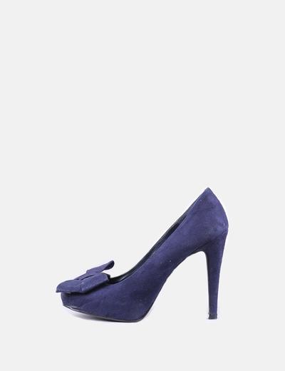 76af9a4ab Marypaz Sapato de brilhante azul marinho com arco (desconto de 82 ...
