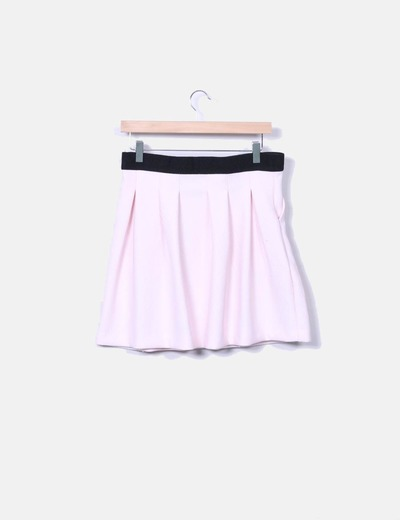 Falda mini rosa