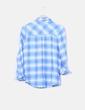 Camisa de cuadros azules Zara