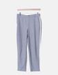 Pantalón chino gris banda lateral Zara