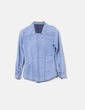 Camisa denim con tachas Suiteblanco