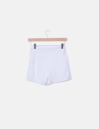 Falda pantalón blanco