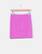 Mini falda rosa fucsia de punto Vero Moda