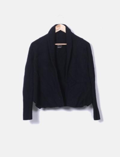 Black cashmere wool sweater Massimo Dutti