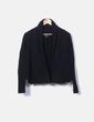 Jersey negro de lana cashmere Massimo Dutti
