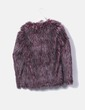 Garnet synthetic fur combed jacket Mythe Clothing