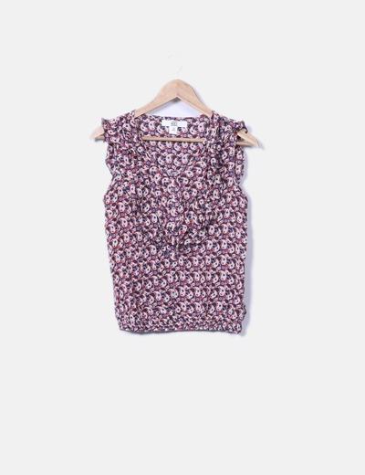 Camiseta estampado cachemira Sfera