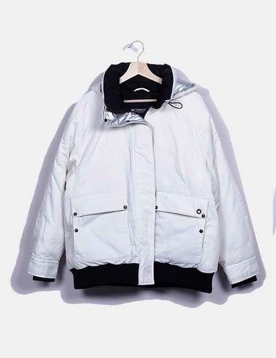 Blusão acolchoado Zara