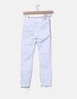 Jeans denim blanco con rotos Zara