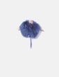 Estola de pelo natural azul Seventy