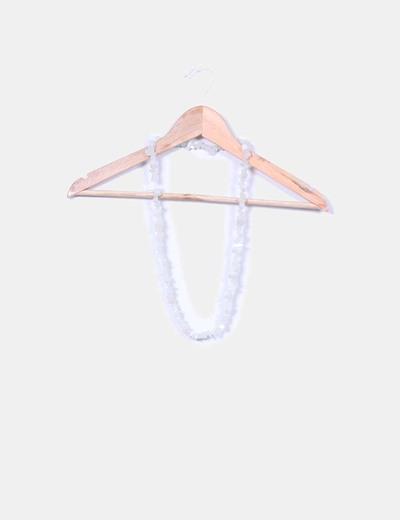 Collar de cuarzo blanco NoName