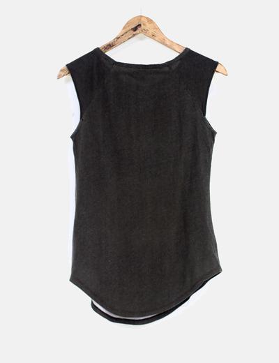 4018542b0 53Micolet Zara Camiseta Sin Rockeradescuento Mangas MVGzpSUq