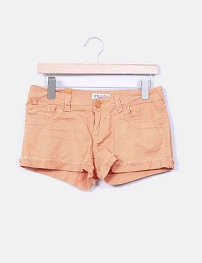 Short naranja Pull&Bear