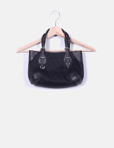 Bolso negro de mano DKNY