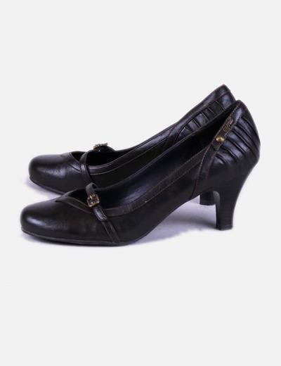 Chaussure marron boucle de Esprit