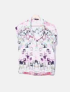 Camisa fluida estampado multicolor Custo Barcelona 9eda029172818