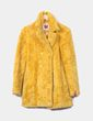 Abrigo de pelo amarillo  Miss Sixty