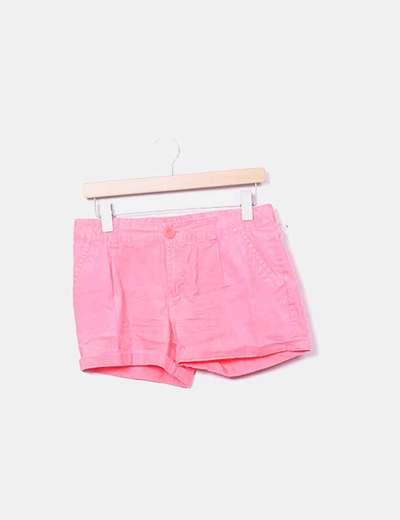 Short rosa flúor