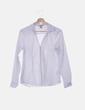 Camisa blanca manga larga H&M