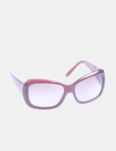 Gafas de sol maxi pasta granate