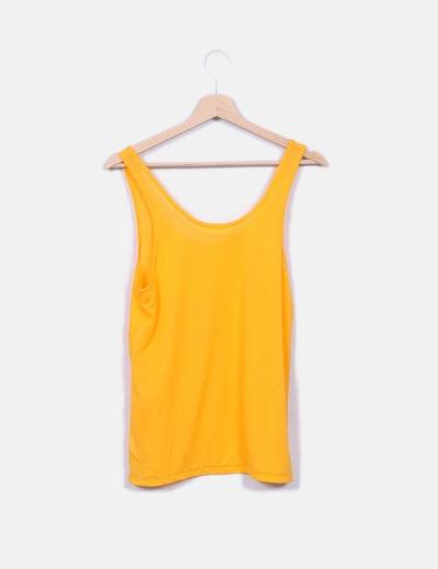 Zara T-shirt com alças laranja (desconto de 84%) - Micolet 446dd4a9a2dd0