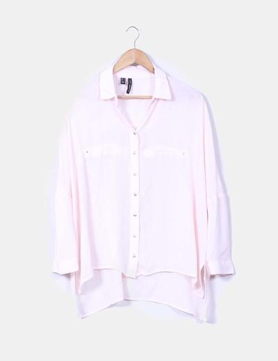 Blusa rosa palo Mango