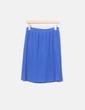 Falda plisada azul NoName