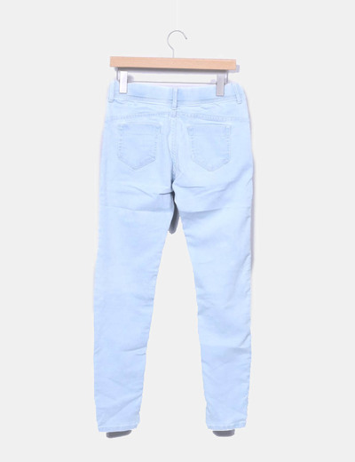 Jeggings denim azul claro