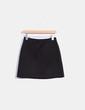 Falda negra texturizada Armani