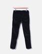 Pantalon noir texture skinny Hakei