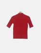 Top rojo manga corta Zara