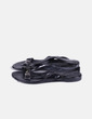 Sandales noires acharoladas Geox