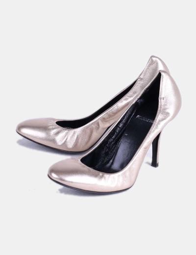Zapato dorado  Pierre Hardy