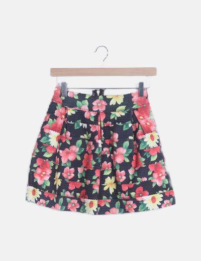 PINK STUDIO mini skirt
