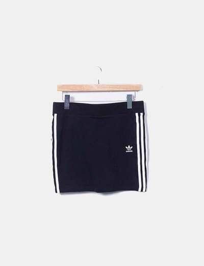 Adidas Minigonna nera adidas (sconto 68%) - Micolet 47b82ba8d1e