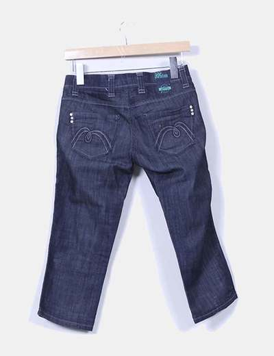 Pantalon pirata azul oscuro