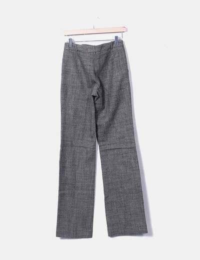 Pantalon traje jaspeado