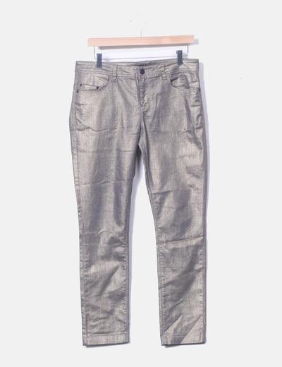 Pantalons en denim paillettes Vero Moda