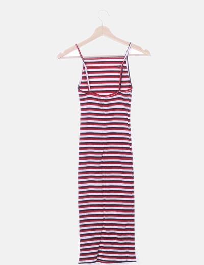 obtener nueva venta oficial múltiples colores Maxi vestido rayas
