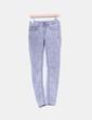 Jeans pitillo efecto desgastado gris VILA
