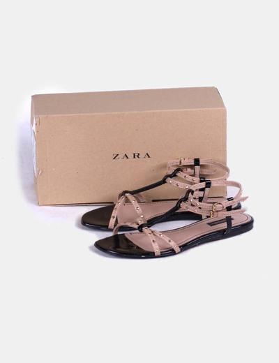 401a5a6b Tachasdescuento Con Zara Sandalia 66Micolet Tiras b6gv7YfIy