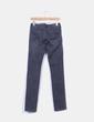 Jeans denim pitillo negro Bershka