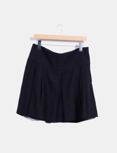 03e51abd6 Falda negra con tablas