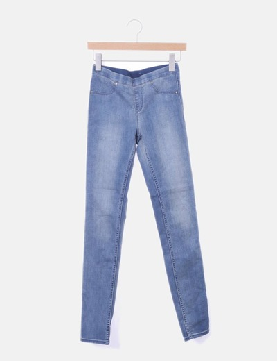 Jegging denim elástico
