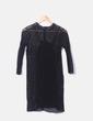 Robe noire Zara