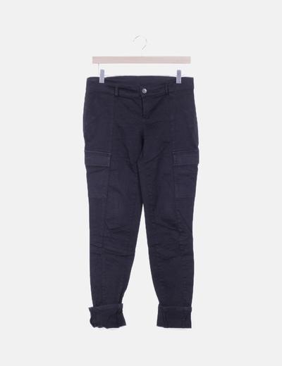 Jeans safari negro