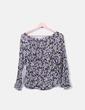 Blusa de gasa estampado floral NoName