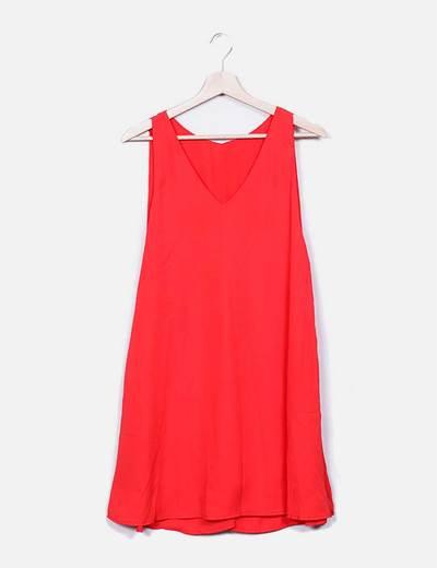 Vestido tirantes rojo NoName