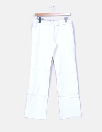 Pantalón blanco pata ancho