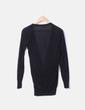 Camiseta negra de punto glitter Bershka